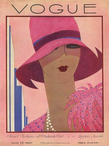 Vintage Vogue Cover  Винтажные обложки Vogue первой половины ХХ века (266 работ)