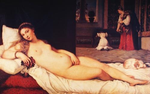 Арт НЮ в живописи | XIX-XXe | АРТ the NU in painting (350 работ)