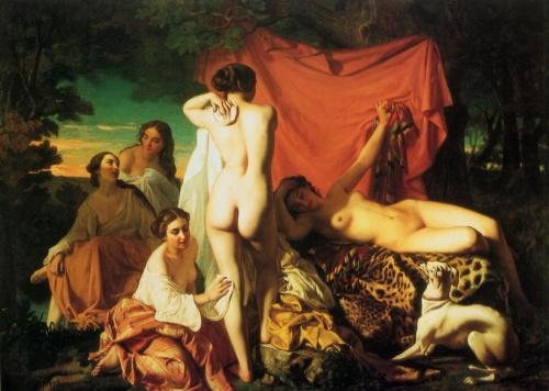 Арт НЮ в живописи   XIX-XXe   АРТ the NU in painting (350 работ)