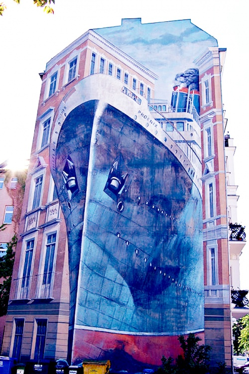 3D-Street Art Photos а Collection (16 работ)