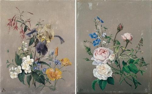Натюрморты Arnoldus Bloemers (Dutch, 1786-1844) (34 работ)