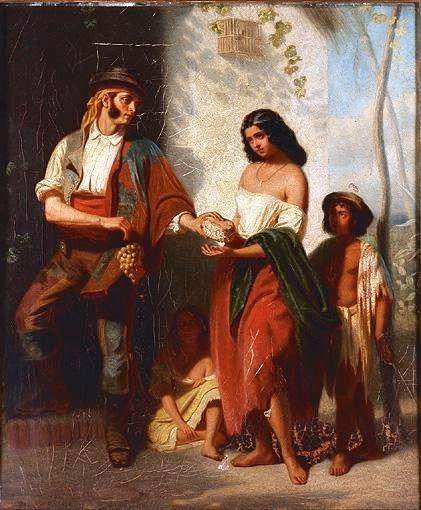 Шотландский художник John Phillip (1817-1867) (132 работ)