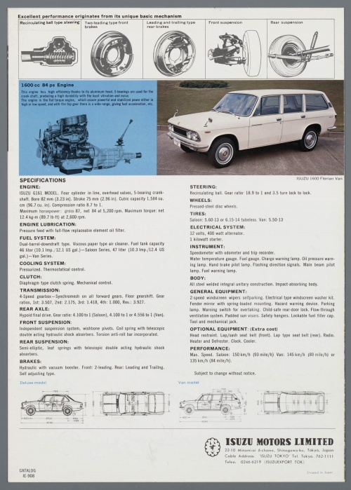 Dutch Automotive History (part 42) Innocenti, Iso, Isuzu, Jowett, Kaiser, Lagonda (107 фото)