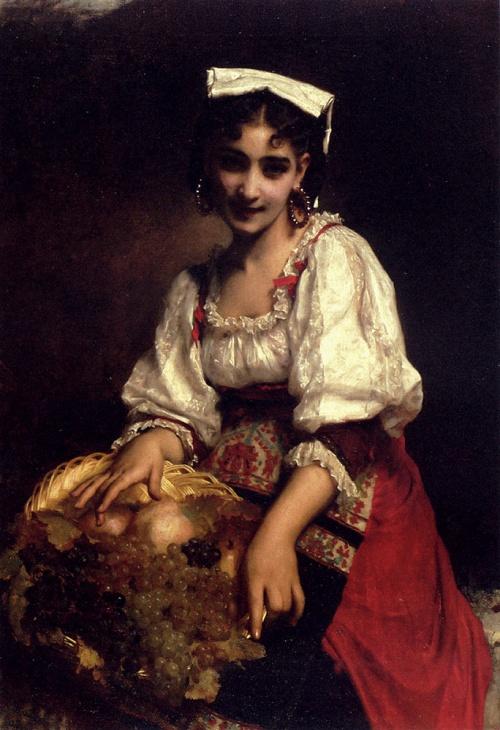 Французский художник Etienne Adolphe Piot (1850-1910) (51 работ)