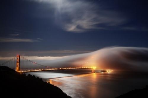 Фотограф Terence Chang - Туман в Сан - Франциско (41 фото)