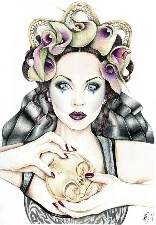 Иллюстратор Kelly Durette (29 работ)