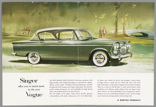 Dutch Automotive History (part 41) Singer (60 фото)