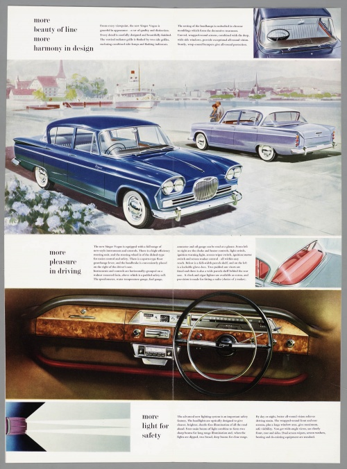 Dutch Automotive History (part 41) Singer (60 фото)