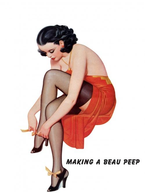 Девушки в стиле Pin up / Pin Up Girls (100 работ)