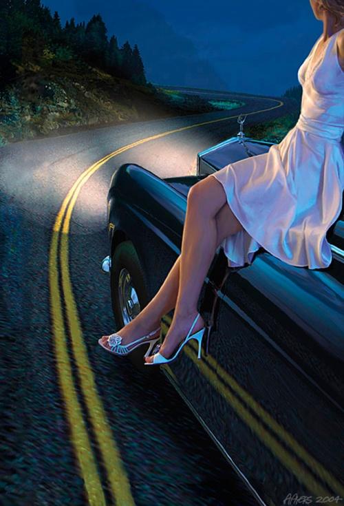 Иллюстрации современного американского художника - иллюстратора Алана Айерса (Alan Ayers) (81 работ)