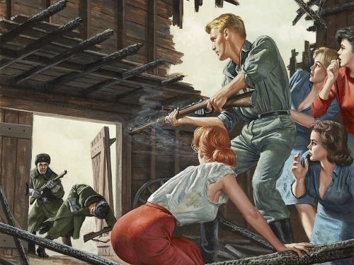 Artist Mort Kunstler (61 работ)