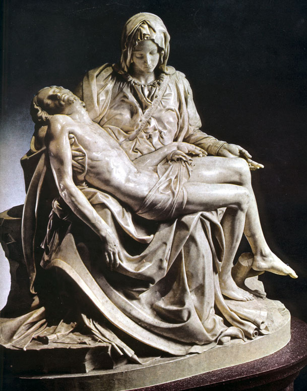 an analysis of the meaning of art found in pieta