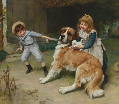 Художник Arthur John Elsley (1860-1952) (103 работ)