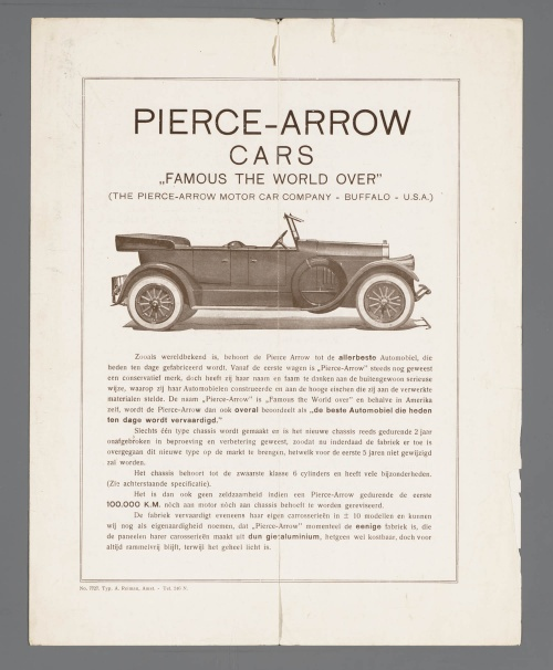 Dutch Automotive History (part 52) Oakland, Pierce Arrow, Plymouth (130 фото)