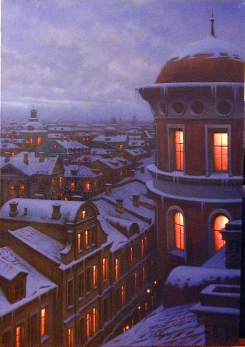 Современные художники - Алексей Бутырский (101 работ)