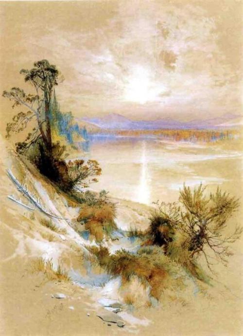 Пейзажи Томаса Морана (Thomas Moran) (237 работ)