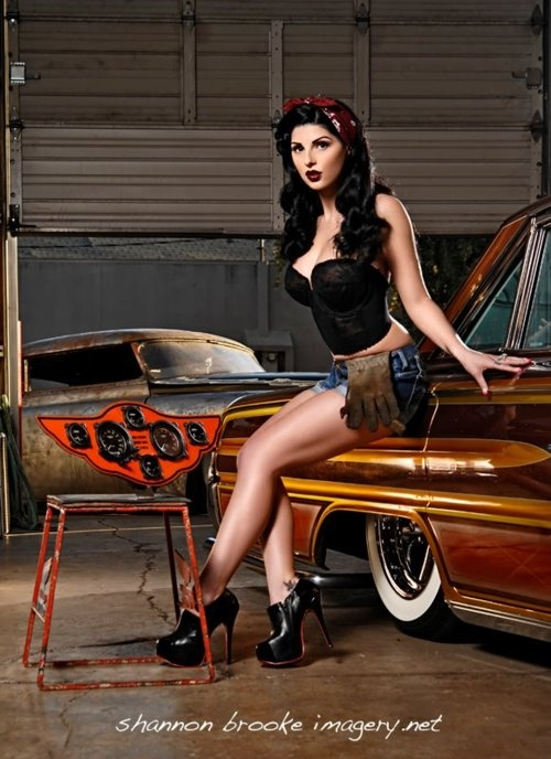 Pin-Up Photo Collection by Shannon Brooke (263 работ)