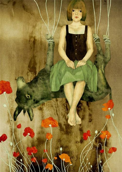 Работы вьетнамской художницы Муни Кхоа Ле (37 работ)