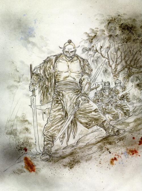 Luis Royo - Dead Moon (Epilogue) (64 работ) (1 часть)