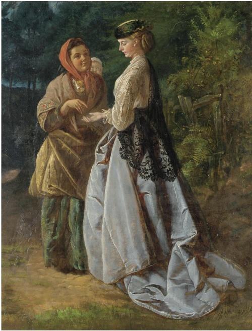 Женский образ в живописи 18-20 веков часть 8 (61 работ)
