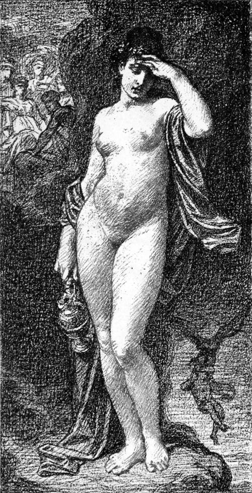 Французский художник Hugues Merle (1823-1881) (55 работ)