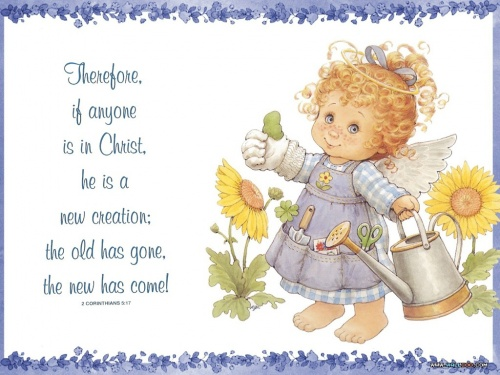 Adorable Little Angel of Ruth J. Morehead \ Очаровательные ангелочки от Ruth J. Morehead (12 работ)
