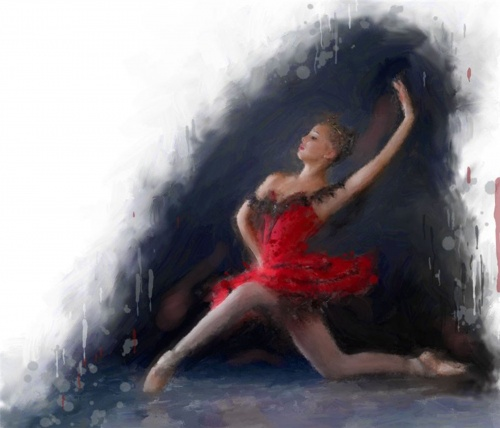 Abstract Ballet Art (14 работ)