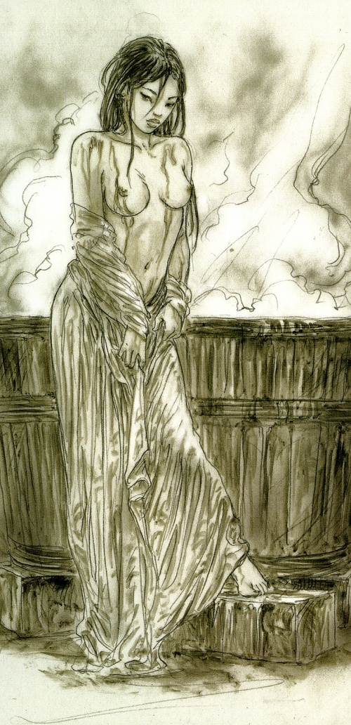 Luis Royo - Dead Moon (Epilogue) (55 работ) (2 часть)