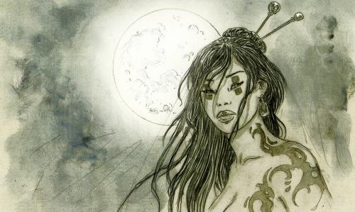 Luis Royo - Dead Moon (Epilogue) (55 работ) (2 часть)