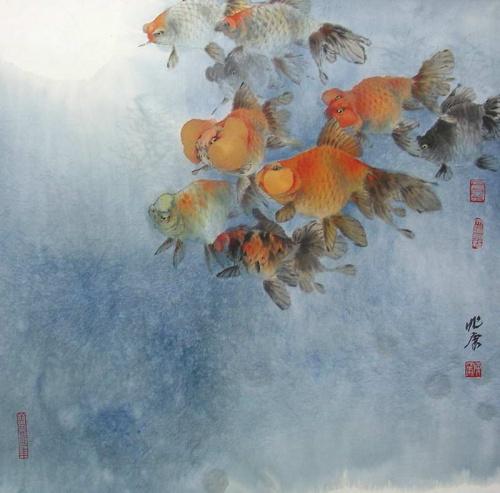 Современные китайские художники (74 работ)