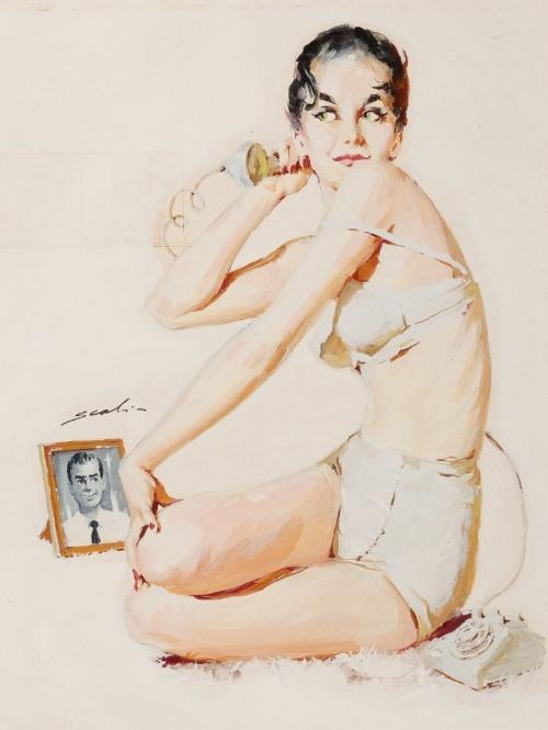 Забытые иллюстраторы - Mauro Scali (22 работ)