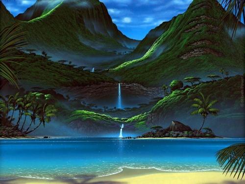 Steven Power Art Wallpapers (27 работ)