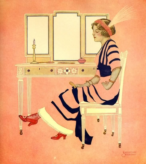 Забытые иллюстраторы - Valentine Sandberg (26 работ)