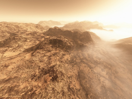 Kees Veenenbos: фото Марса в художественной обработке (43 фото)