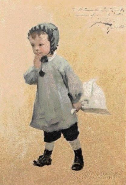 Henry Jules Jean Geoffroy (French, 1853 - 1924) (66 работ)
