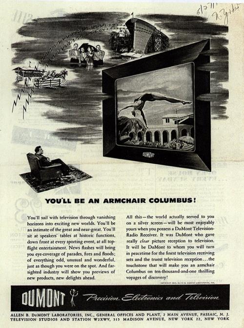 Реклама телевидения. Часть 1. 40-е (91 фото)