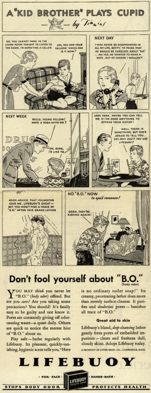 История рекламы. Часть 8. Lever Brothers Company (122 фото)