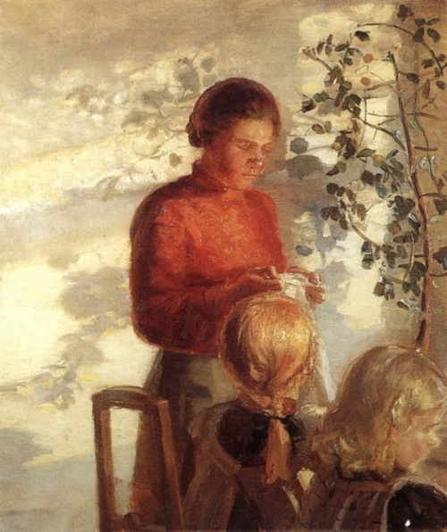 Anna Ancher (1859-1935). Art picture (26 работ)