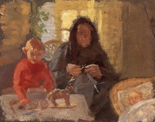 Anna Ancher (1859-1935). Art picture (26 работ)
