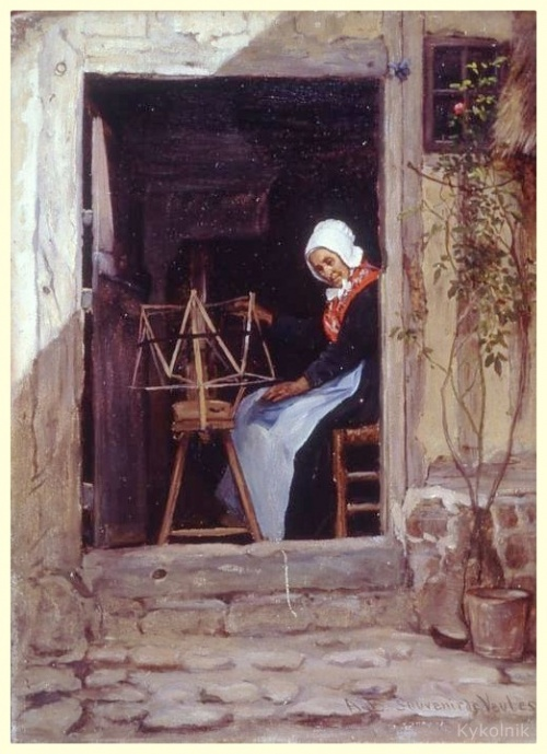 Adolf von Becker (1831 - 1909) (35 работ)