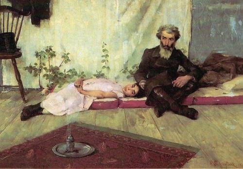 Helene Sofia Schjerfbeck (1862 – 1946) art picture (24 работ)