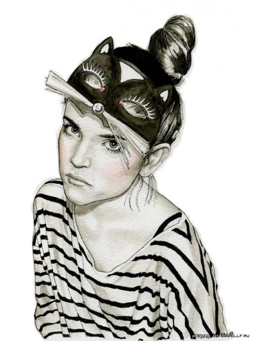 Фэшн-иллюстратор из Швеции - Ханна Мюллер (40 работ)