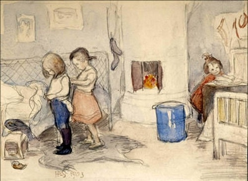 Hanna Frosterus - Segerstrale (1867 – 1946) (13 работ)