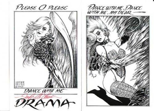 Третья - заключительная часть подборки работ американского иллюстратора: Джозеф Майкл Линсер (Joseph Michael Linsner) (784 работ) (2 часть)