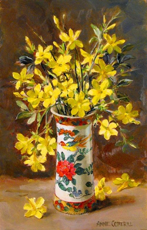 Anne Cotterill (British, 1933 - 2010) (13 работ)