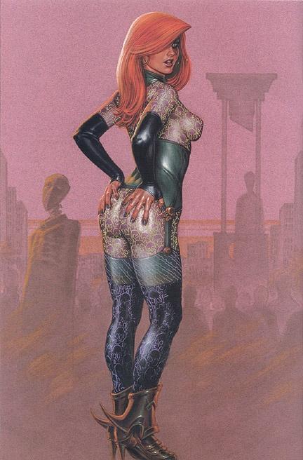 Вторая часть подборки работ американского иллюстратора: Джозеф Майкл Линсер (Joseph Michael Linsner) (639 работ) (2 часть)