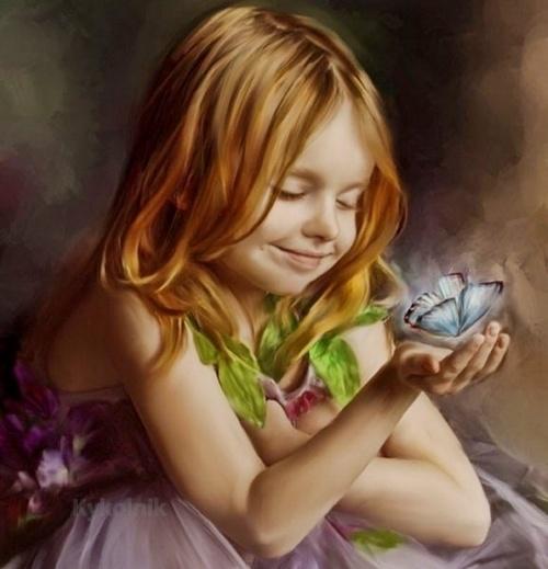 Бабочки - напоминание о лете (50 работ)