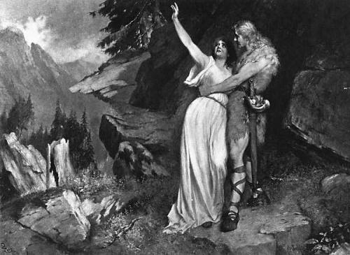 Немецкий художник Ferdinand Leeke (1859-1925) (74 работ)
