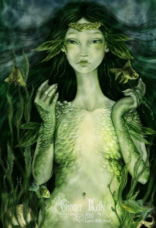 Волшебный мир Lauren Kelly Small (93 работ)