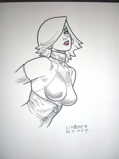 Вторая часть подборки работ американского иллюстратора: Джозеф Майкл Линсер (Joseph Michael Linsner) (512 работ) (1 часть)